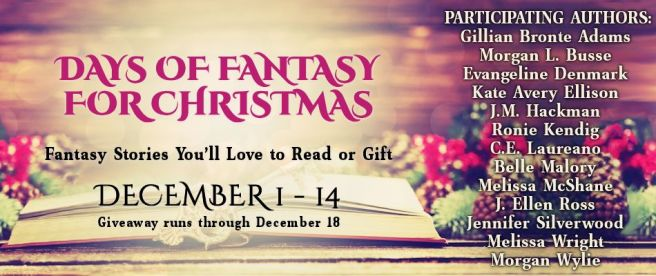 Banner - Days of Fantasy for Christmas 2018