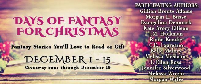 Banner NEW - Days of Fantasy for Christmas 2018